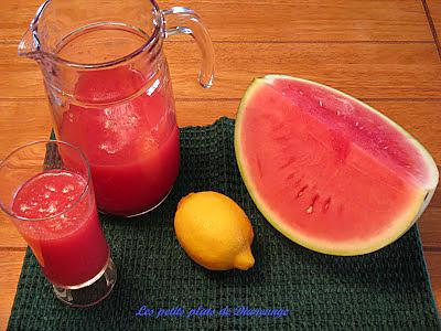 Recette de limonade au melon d 39 eau par dianeange - Quand cueillir un melon ...