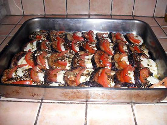 Recette D Aubergine Grille Tomate Mozzarella