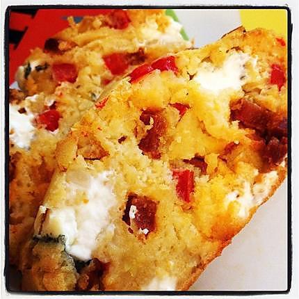 Recette Cake Chorizo Chevre Frais