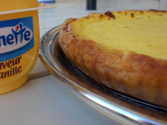 Recette flan patissier vanille facile