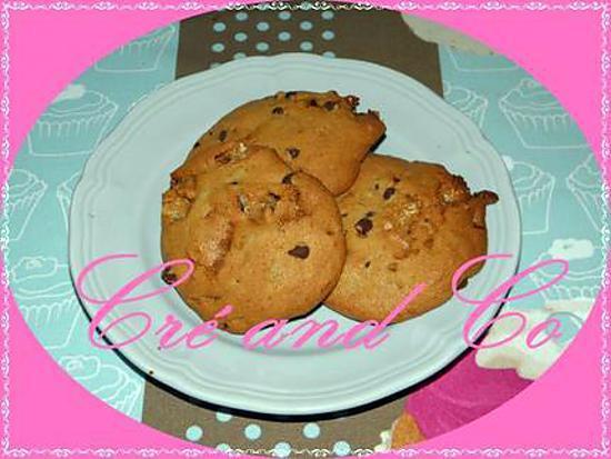 recette Cookies aux pépites de chocolat et shamalows