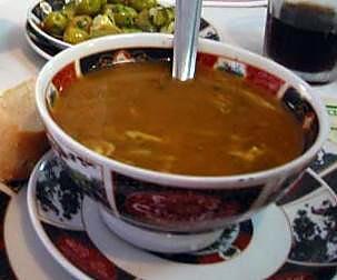 recette Harira, (Soupe marocaine du ramadan).