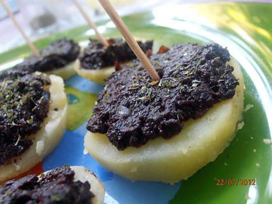 recette canapés parmentiers provençaux (apéritif des petits et des grands)