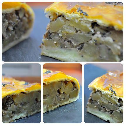 recette Strudel aux pommes, noix et pavot : sans sucre
