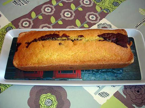 recette cake marbré (très moelleux )