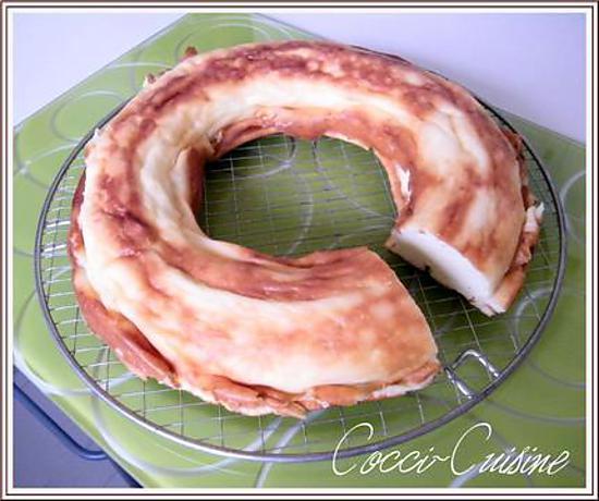 recette Savarin mousseux au fromage blanc