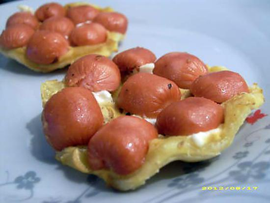 recette de mini tatin sal e saveur hot dog r ception. Black Bedroom Furniture Sets. Home Design Ideas