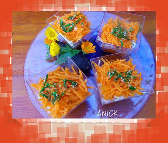 recette Salade de carottes et radis noir à la japonaise