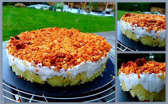 recette Cheesecake de poisson (brandade de morue revisitée)