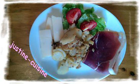 recette Salade sucrée/salée N°2