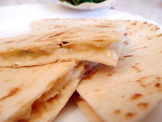 recette Quesadillas au fromage et poulet
