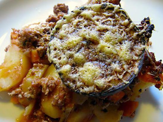 recette Moussaka avec des pommes de terre