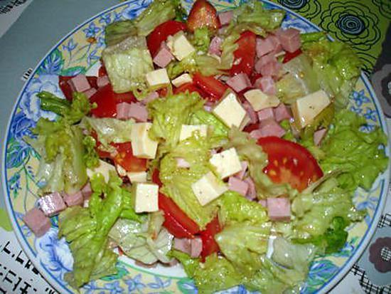 salade melee facile
