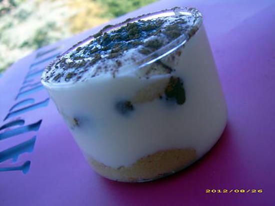 recette tiramisu au nutella, rhum et zestes de citron