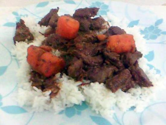 recette Boeuf carotte!