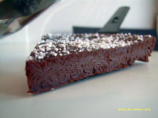 recette fondant menthe-chocolat