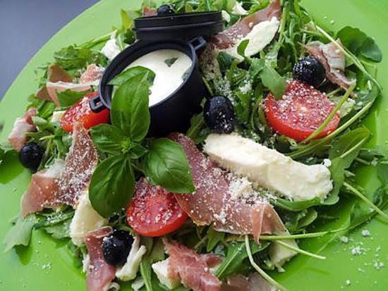 Recette de salade verte l 39 italienne - Salade verte composee ...