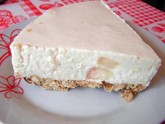 recette Cheesecake aux nectarines