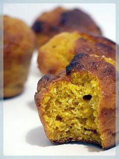 muffins au potiron et noix de coco