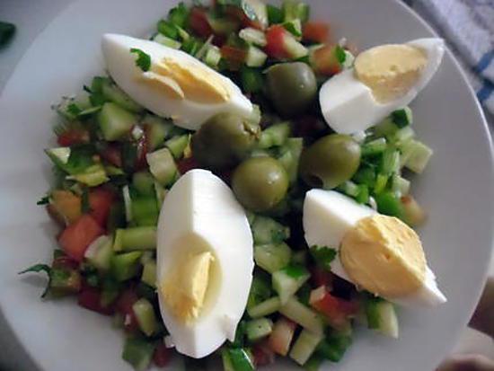 recette salade tunisienne