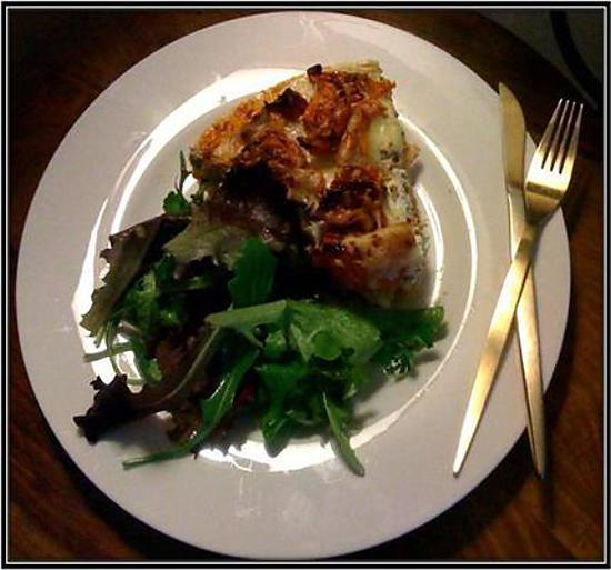 recette Quiche au thon crémeux et tomates confites