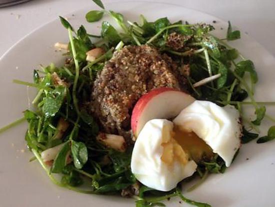 recette Lentilles croquantes et salade surprise SG/SL