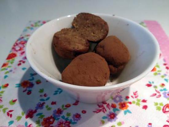 recette truffes bien-être