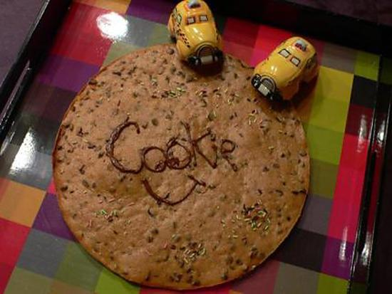 recette Cookie XXL sans gluten