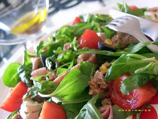 recette salade du chantier