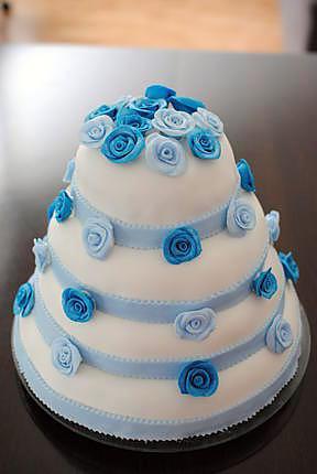 Recette de Gâteau pièce montée 35 ans de mariage