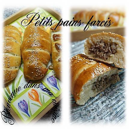 recette petits pains farcis