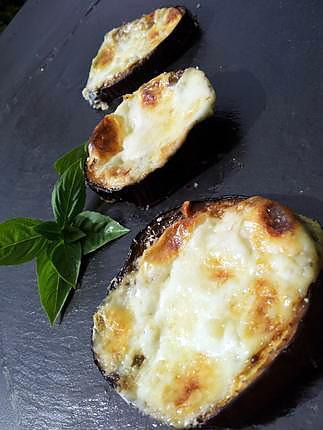 Recette d 39 aubergines po l e et grill e l 39 italienne - Recette aubergine grillee ...