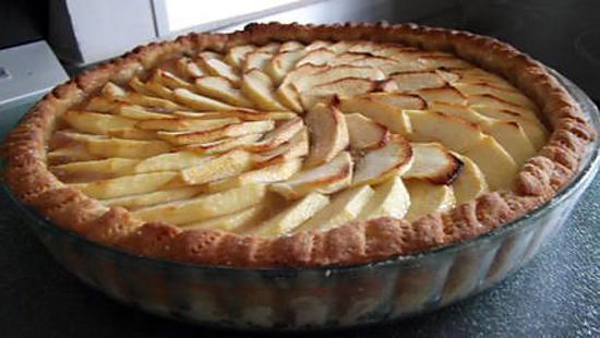 recette Tarte aux Pommes.