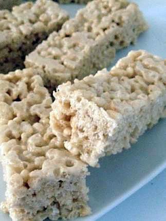 recette Barres Rice krispies aux Marshamllows