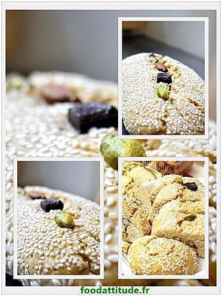 recette Boulou aux amandes, chocolat, pistaches et raisins : sans sucre.
