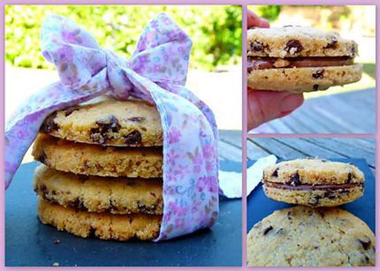 recette Un peu Brioche, un peu Cookie... Briokies chocolat