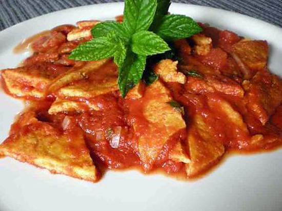 Recette d 39 oeufs la tripe recette italienne mais sans tripe - Tripes a la lyonnaise ...