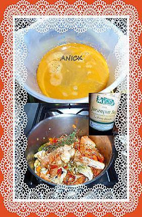 recette Fumet de poisson-crustacé :