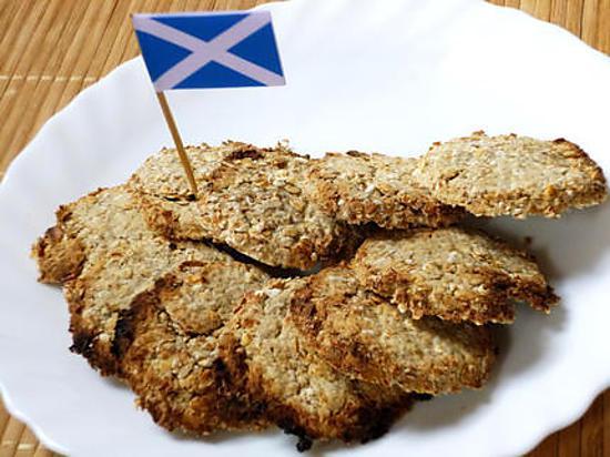 recette Oatcakes - biscuits à l'avoine