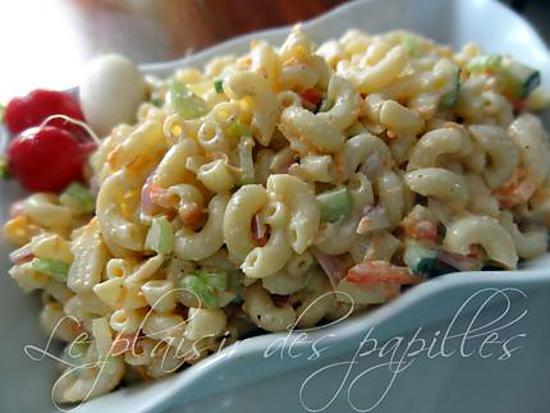 recette Salade de macaronis du Kentucky à la Marlo