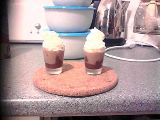 recette Petite douceur de crème de marron en verrine (pour les gourmands et gourmandes)