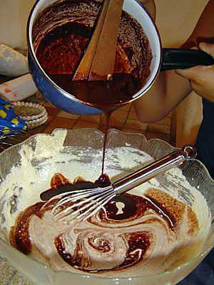 recette Béchamel au chocolat
