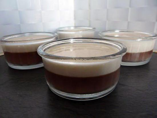 recette Panna cota night and day
