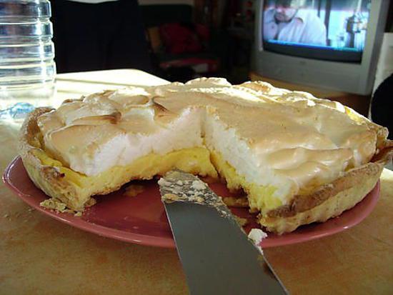 Recette de tarte au citron meringu e par gourmandine - Recette tarte au citron sans meringue ...