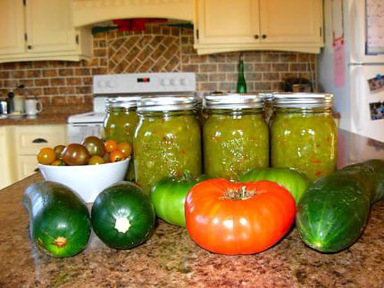 Recette de relish aux tomates vertes - Cuisiner des tomates vertes ...