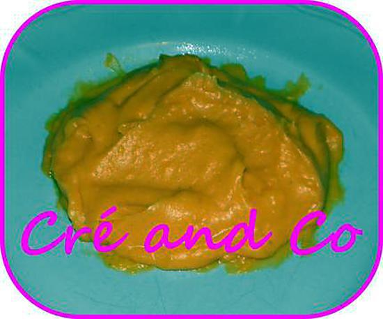 recette Purée de patate douce...