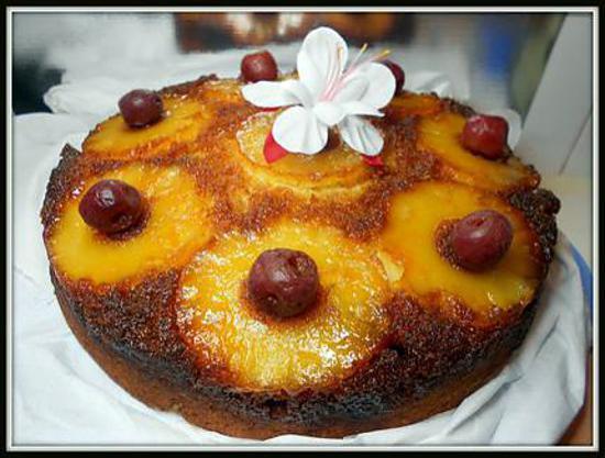 Recette gateau a l'ananas creole