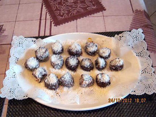 recette BANANES AUX CHOCOLAT
