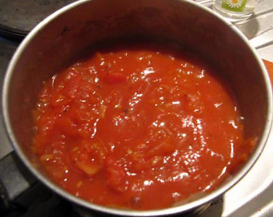 recette Filet de dinde tomaté et sa mozzarela