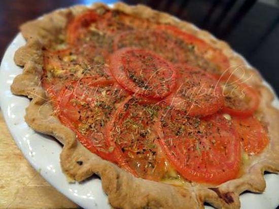 recette Tourte de jambon à la provençale